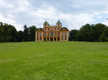 The royal summer palace in Ludwigsburg Stock Images