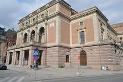 Royal Swedish Opera in Stockholm. Stock Image