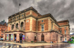 Royal Swedish Opera in Stockholm Stock Image