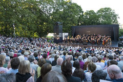 Royal Swedish Orchestra Stockholm Royalty Free Stock Photo