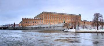 Royal Swedsih Castle (Kungliga Slottet) Royalty Free Stock Photo