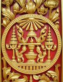 Royal Symbol. At the Royal Palace in Cambodia Stock Photos