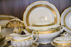Royal tableware Stock Photo