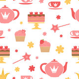 Royal tea party Stock Photography