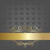 Royal template Stock Photography