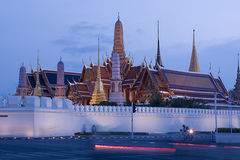 The royal temple of Bangkok Stock Photo