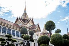 Royal temple landmark of Thaiand in Bangkok Stock Photography