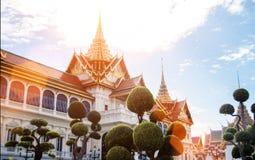 Royal temple landmark of Thaiand in Bangkok Stock Images