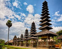 Royal temple Taman Ayun, Bali, Indonesia Stock Photo