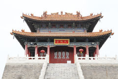 The royal temple, west five yunju temple in xian Royalty Free Stock Image