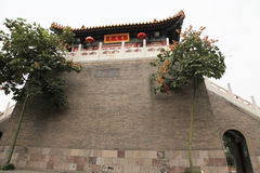 The royal temple, west five yunju temple in xian Stock Photo