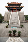 The royal temple, west five yunju temple in xian Stock Image