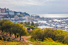 Royal Terrace Gardens Torquay Royalty Free Stock Images