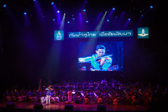 Royal Thai Air Force Symphony Orchestra Royalty Free Stock Photo