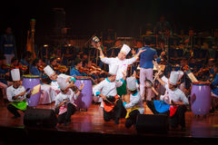 Royal Thai Air Force Symphony Orchestra Stock Photography