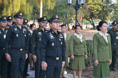 Royal  thai army Royalty Free Stock Photography