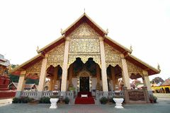 Royal Thai Church Royalty Free Stock Photos