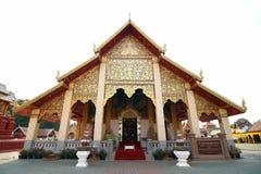 Royal Thai Church. In north of Thailand Royalty Free Stock Photos
