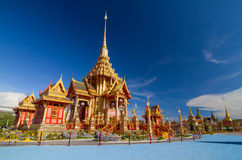 Royal Thai crematory Royalty Free Stock Images