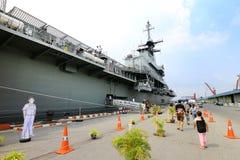 Royal Thai Navy Aircraft carrier stock photography
