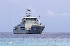 Royal Thai Navy Warship Royalty Free Stock Images