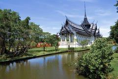 Royal Thai palace of Sanphet Prasart Palace Stock Image