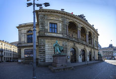 The royal theater Denmark Copenhagen Stock Photos