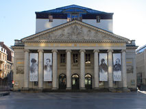 The Royal Theater of the Mint. Brussels. Belgium stock images
