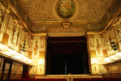 Royal theater naples Royalty Free Stock Image