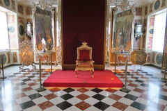 Royal Throne Royalty Free Stock Photography