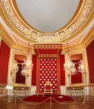 Royal throne of Polish king Royalty Free Stock Image
