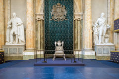 Royal throne Stock Photo