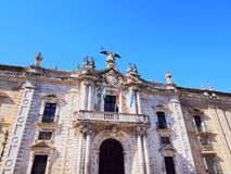 Royal Tobacco Factory in Seville, Spain Royalty Free Stock Photo