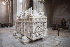 Royal tomb, Alcobaca Stock Photos
