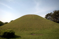Royal tomb, Geongju, Korean Republic Stock Images