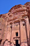 Royal tomb, Petra Royalty Free Stock Images