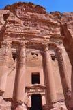 Royal tomb, Petra Royalty Free Stock Photography