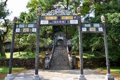 Royal Tomb of Vietnam stock photo