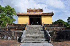 Royal Tomb of Vietnam stock image