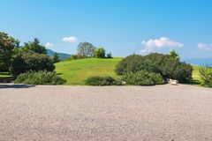 Vergina landscape. Greece Royalty Free Stock Photos