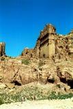 Royal tombs, Petra,Jordan Royalty Free Stock Photo