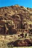 Royal tombs, Petra,Jordan Stock Images