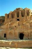 Royal tombs, Petra,Jordan Stock Photography