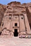 The Royal Tombs of Petra Stock Photo