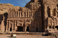 Royal Tombs, Petra Royalty Free Stock Photo