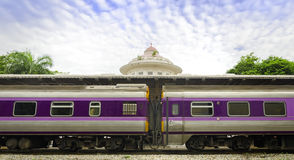 Royal train station in Bangkok. Thailand Royalty Free Stock Photos