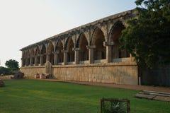 The Royal Treasury building at the Zenana Enclosure, Hampi, Karnataka, India Stock Photos