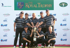 The royal trophy 2010 Stock Images