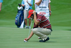 Royal Trophy golf tournament, Asia vs Europe 2010 Stock Photo