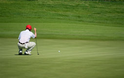 Royal Trophy golf tournament, Asia vs Europe 2010 Stock Photos
